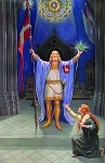 Parsifal and the Holy Grail Masonic Poster - [11'' x 17'']