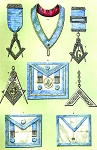Grand Lodge of Ireland Private Lodge Clothing and Jewels Masonic Regalia Poster - [11'' x 17'']