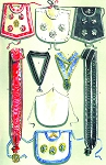 Grand Lodge of Denmark Masonic Regalia Poster - [11'' x 17'']
