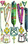 Grand Lodge of Denmark Continued Masonic Regalia Poster - [11'' x 17'']