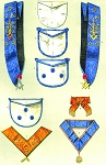St. John's Grand Lodge of Hungary Masonic Regalia Poster - [11'' x 17'']