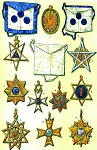 Grand Lodge ''Royal York of Friendship'' Berlin Masonic Regalia Poster - [11'' x 17'']