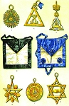 Grand Lodge of the Eclectic Union Frankfort-a-Maine Masonic Regalia Poster - [11'' x 17'']