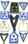 Grand Lodge of Norway Blue Lodge Masonic Regalia Poster - [11'' x 17'']