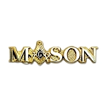 Mason Square & Compass Gold Masonic Lapel Pin - [1