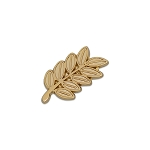 Acacia Sprig Masonic Lapel Pin - [Gold][1'' Tall]