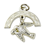 Royal Ark Mariner Masonic Pendant - [Silver][1 1/4'' Tall]