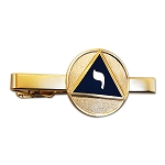 14th Degree Scottish Rite Masonic Tie Clip - [Blue & Gold][2 1/4'' Wide]