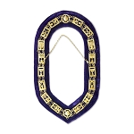 Royal & Select Master Masonic Chain Collar with Purple Velvet