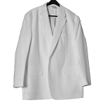 Men's White Swedish Knit Suit