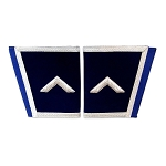Worshipful Master's Square Blue & White Hand Embroidered Masonic Gauntlets
