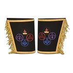 York Rite Masonic Gauntlets