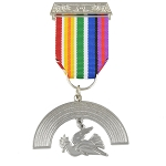 Royal Ark Mariner Masonic Breast Jewel - [4'' Tall]