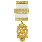 Royal Arch Masonic Breast Jewel - [4 3/4'' Tall]