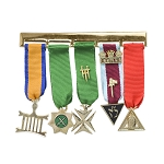 Allied Degrees Masonic Breast Jewel - [4'' Wide]