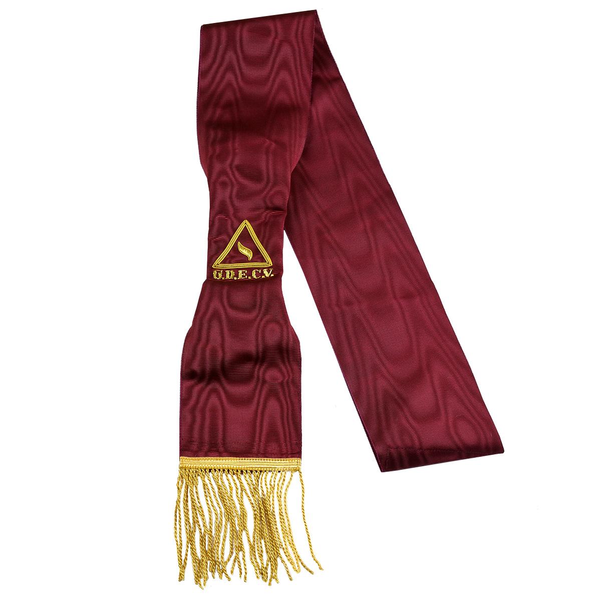 14th Degree Lodge of Perfection Sash