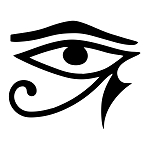 Eye of Horus Masonic Vinyl Decal