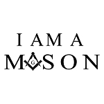 I Am a Mason Square & Compass Masonic Vinyl Decal