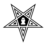 Order of the Eastern Star Masonic Vinyl Decal