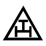 Royal Arch Triangle Masonic Vinyl Decal