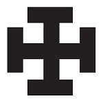 Teutonic Tau Cross Masonic Vinyl Decal
