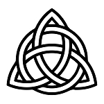 Celtic Triquetra Masonic Vinyl Decal