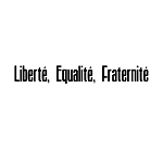 Liberte Equalite Fraternite Masonic Vinyl Decal