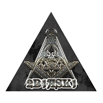 2B1ASK1 Square & Compass Masonic Bumper Sticker - [4.25'' Tall]