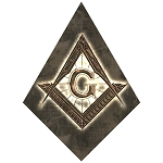 Square & Compass Masonic Bumper Sticker - 5