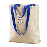 Custom Embroidered Cotton Canvas Tote