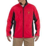 Prince Hall 3 5 7  Embroidered Masonic Men's Soft Shell Jacket