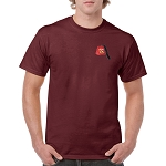 Shriner Fez Embroidered Men's Crew Neck T-Shirt