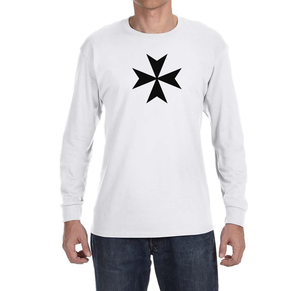 2fe008ad6a Maltese Cross Long Sleeve T-Shirt