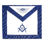 Master Mason Masonic Apron with All Seeing Eye