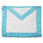 Basic Light Blue Master Mason Masonic Apron