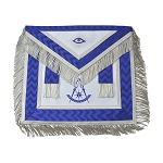Past Master Fringed Masonic Apron