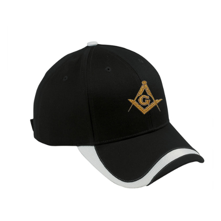1e2cbdf11a567 Our Custom Masonic Cotton Twill Visor comes in six different colors to  choose from