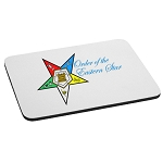 Order of the Eastern Star with Text Mouse Pad