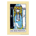 The High Priestess Tarot Card Poster - 11