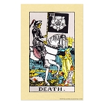 Death Tarot Card Poster - 11