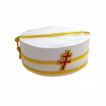 33rd Degree SMJ Scottish Rite Masonic Ceremonial Hat with Patriarchal Cross