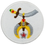 Shriner Embroidered Patch - 1 1/2