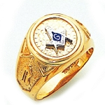 Blue Lodge Ring GLC313MBL