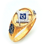 Blue Lodge Ring GLC732BL