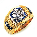 Blue Lodge Ring GLC871BL