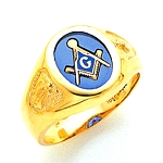 Blue Lodge Ring MAS60139BL