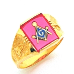 Blue Lodge Ring MAS60217BL