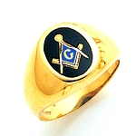 Blue Lodge Ring MAS60333BL