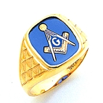 Blue Lodge Ring MAS60340BL