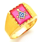 Blue Lodge Ring MAS60436BL